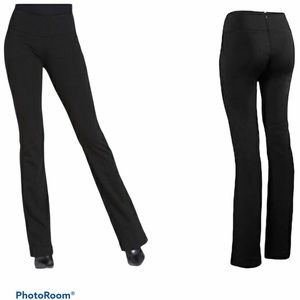 CAbi Back Zip Stretch Bootcut Pants Style 966R